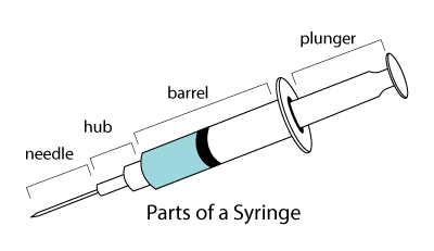 parts of a syringe